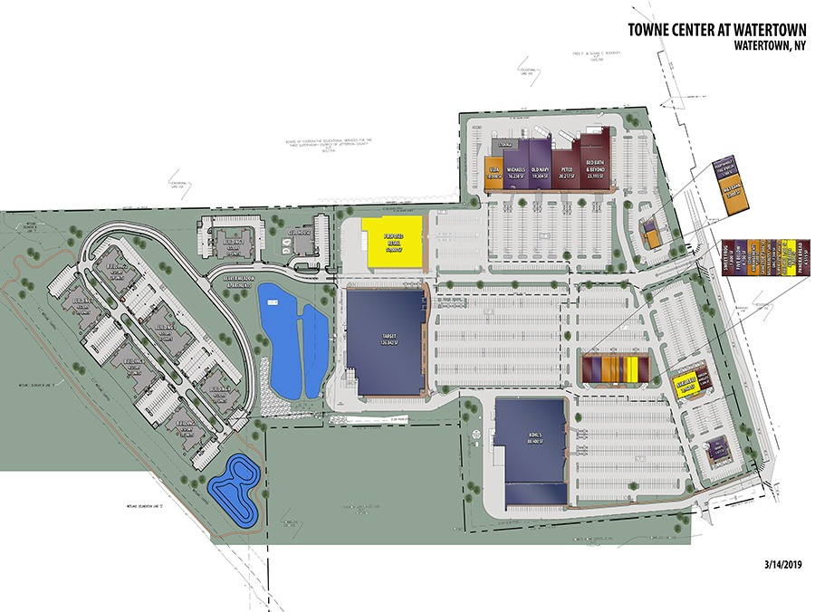BEAVER MEADOW WATERTOWN site COLOR Model - Towne Center at Watertown – Watertown, NY