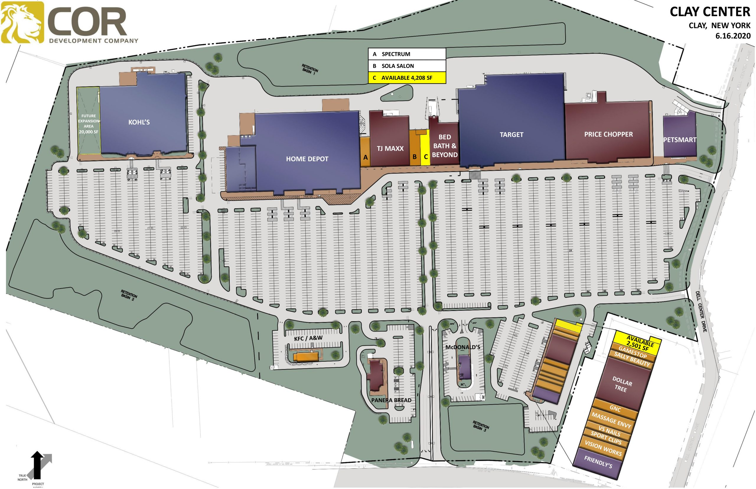 COR CENTER MASTER SITE PLAN scaled - COR Center – Clay, NY