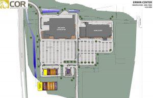 Erwin Center Master Site Plan 300x194 - PowerPoint Presentation