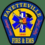Fayetteville Fire Department EMS logo - Community Involvement