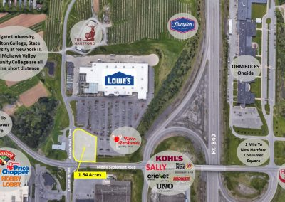Land 400x284 - New Hartford Retail Center – New Hartford, NY