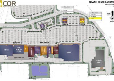 MASTER SITE PLAN BATAVIA 400x284 - Retail Centers