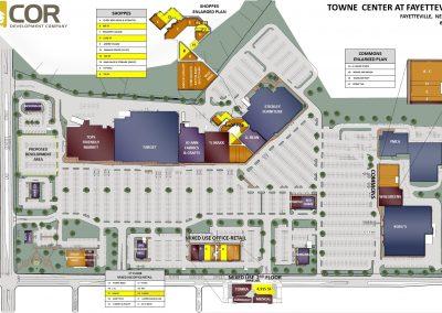 MASTER SITE PLAN Fayetteville 2021.06.01 400x284 - Retail Centers