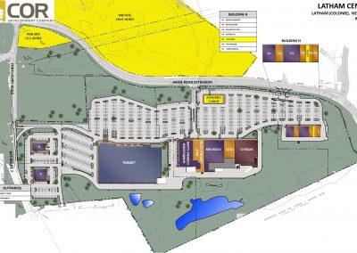 MASTER SITE PLAN LATHAM 400x284 - Retail Centers
