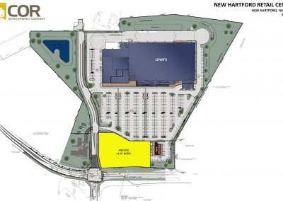 NEW HARTFORD RETAIL CENTER MASTER SITE PLAN 400x284 - Retail Centers