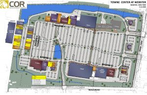 Towne Center at Webster MASTER SITE PLAN 300x194 - PowerPoint Presentation
