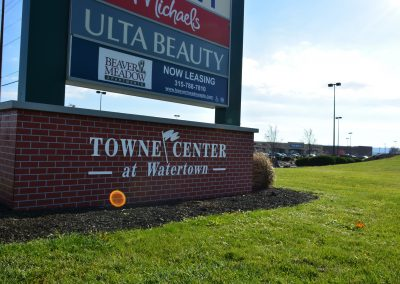 WTS SIGN BASE 400x284 - Towne Center at Watertown – Watertown, NY