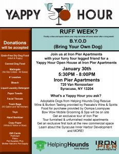 Yappy Hour Flyer 232x300 - Yappy Hour Flyer