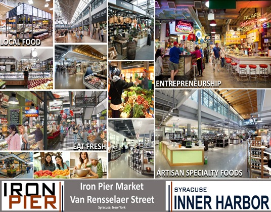 COR Development announces market place concept for Iron Pier at the Inner Harbor