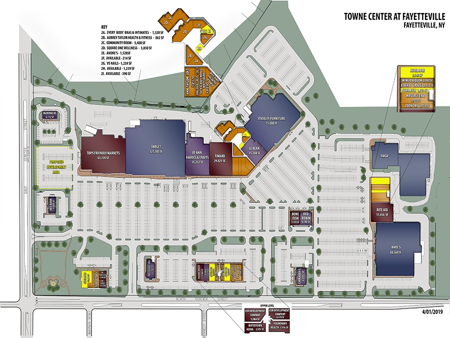 websitFVILLE site COLOR Model - Towne Center at Fayetteville – Fayetteville, NY